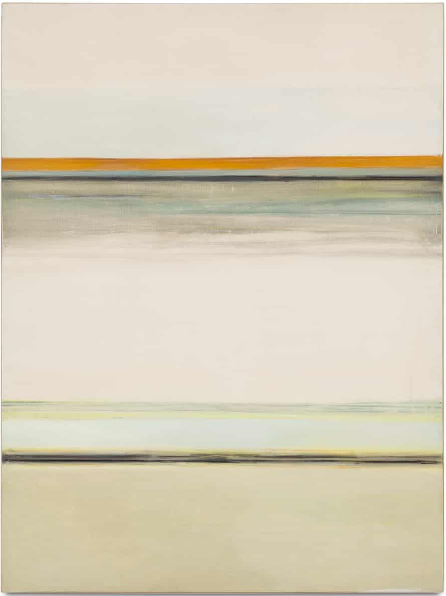 Vertical Horizontal #7 1/2, 1963 by Hedda Sterne.