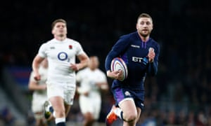Finn Russell orchestrated Scotland's comeback at Twickenham in 2019 but will be absent at Murrayfield.