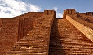 The Ziggurat of Ur.