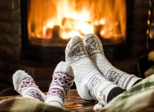 Handknitted socks are quintessentially hygge.
