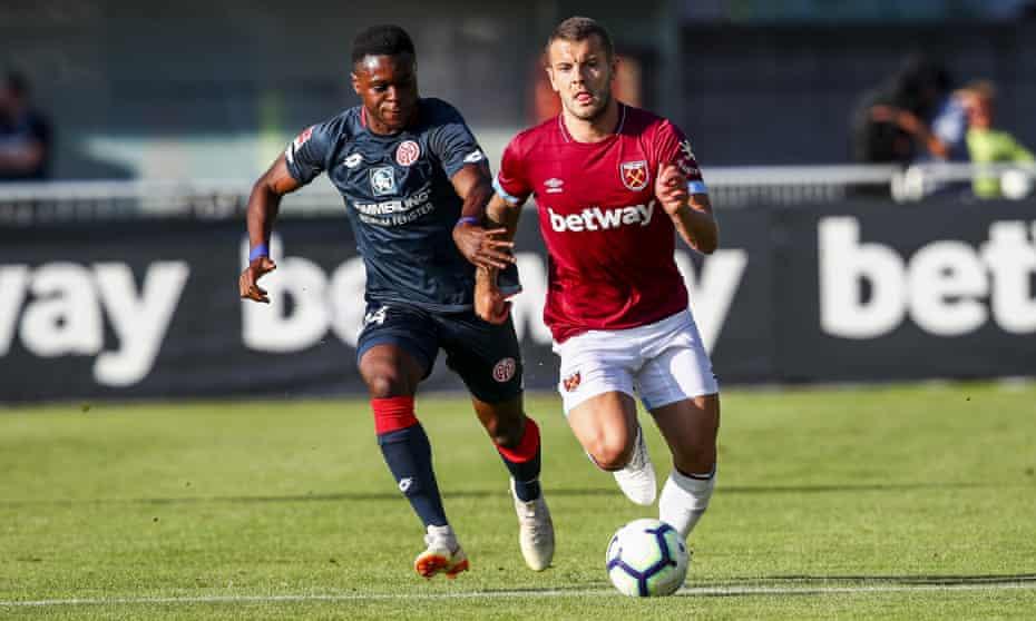 Jack Wilshere of West Ham United.