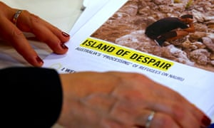 Amnesty International released a report on Tuesday titled Island of Despair