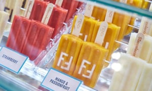 Fendi's lollies.