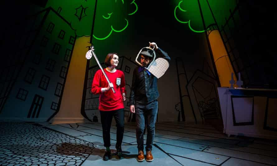 'Appealingly unrestrained' … Ricky Whittington and His Cat at New Diorama theatre, London