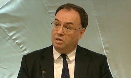 Andrew Bailey, FCA chief executive