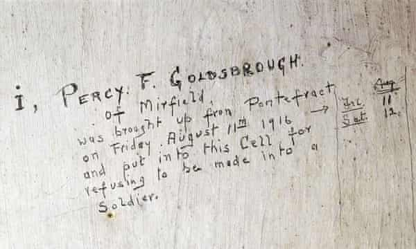 Percy Goldsbrough's graffiti