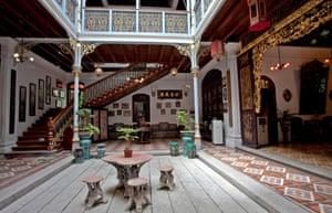 Peranakan Mansion, Georgetown, Penang, Malaysia.