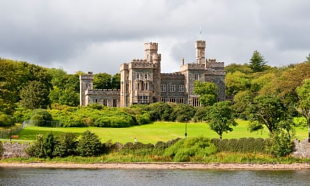 Lews Castle in Stornoway on the Isle of Lewis