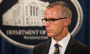 Andrew McCabe asked investigators to create a plan to ensure evidence would be protected.
