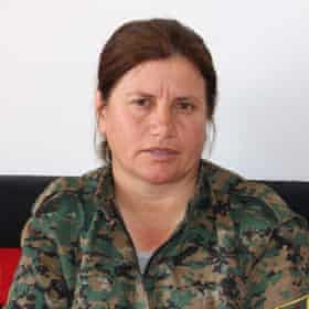 Susan Kobani is one of the most senior commanders of the Raqqa operation