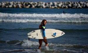 Fukushima surfer