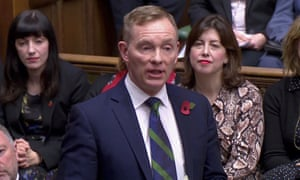 Labour MP Chris Bryant in the House of Commons in November last year.
