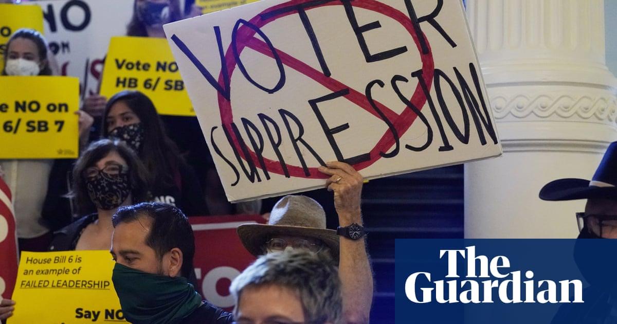 'Wrong and un-American': Biden blasts Texas Republicans' voting rights bill