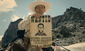 In the jailhouse now? … Tim Blake Nelson in The Ballad of Buster Scruggs.