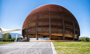 A visitor centre at Cern, the European nuclear research in Geneva.