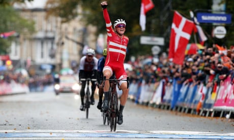 Cycling World Championships 2019: Mads Pedersen wins men's elite road race – as it happened