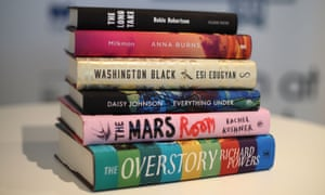 The shortlisted books for the Man Booker prize 2018