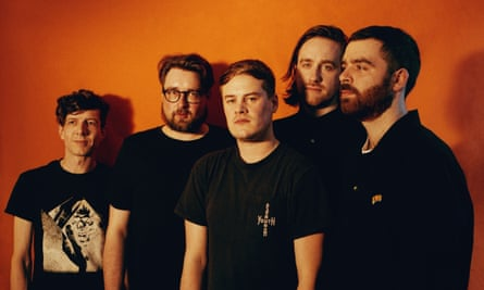 Leeds band Hookworms: Matthew Johnson is pictured second from left.