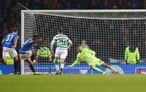 Morelos misses takes the penalty, but Forster saves.