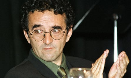Chilean-born writer Roberto Bolano