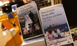 Books by Elena Ferrante displayed in a Rome bookstore. One of literature's most talked-about mysteries appeared to have been cracked with the unmasking of the identity of the Italian publishing sensation Elena Ferrante.