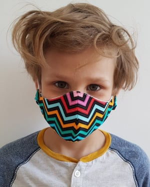Origami style reversible masks made from recycled fabrics or remnants. £8.50,chillspace.co.uk and specificco.co.uk