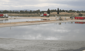 Cowra's local sewage treatment facility
