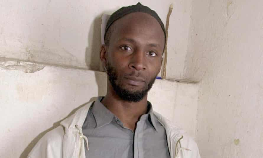 Jamal al-Harith in Kandahar jail in January 2002