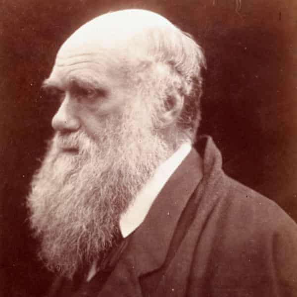 Natural selection … Charles Darwin's wife, Emma, suggested he grow a beard.