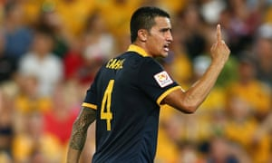 Tim Cahill's Chinese experiment will continue for at least another five months after the Socceroo signed for Hangzhou Greentown.