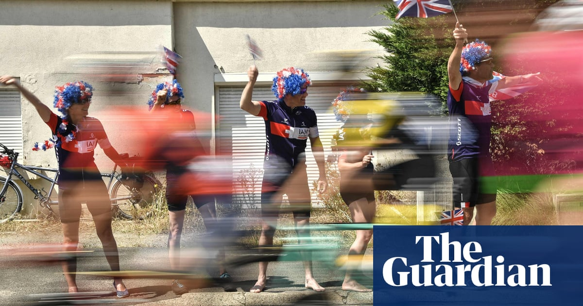 Fun and frivolity watching the Tour de France – in pictures   Sport ...