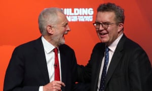 Jeremy Corbyn and Tom Watson at the Labour conference