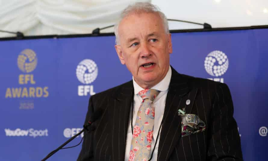 Rick Parry, the EFL chairman, has received near unanimous support for his endorsement of Project Big Picture plan from his 72 league clubs.