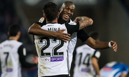Joy for Geoffrey Kondogbia and Santi Mina.