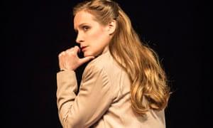 Zoë Waites as Cassius in Julius Caesar.