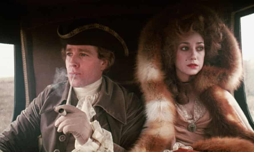 Slow, mysterious shift from comedy to tragedy … Ryan O'Neal and Marisa Berenson in Barry Lyndon.