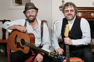 Chas and Dave with guitars