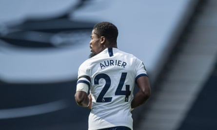 Serge Aurier played in Sunday's North London derby.