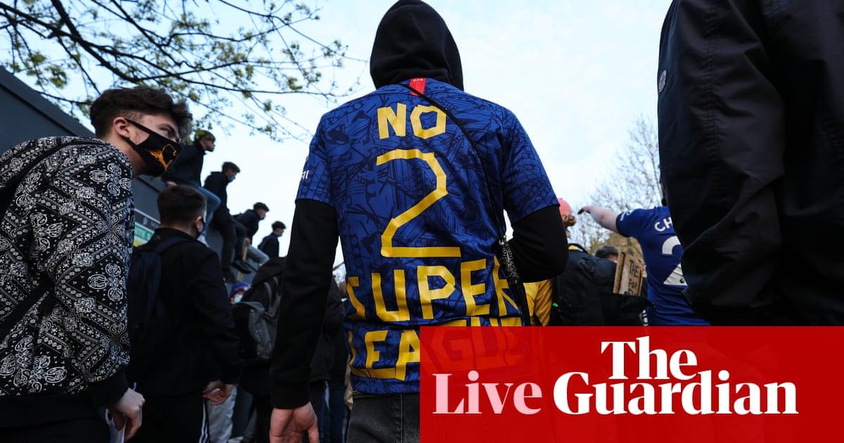 European Super League: updates after Premier League clubs withdraw – live!