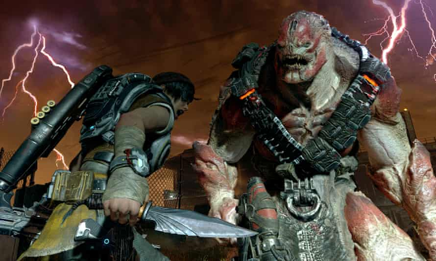 Gears of War 4: likely to be popular with fans of cover-based alien carnage