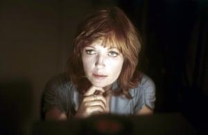 Jenny Runacre, pictured in 1975.