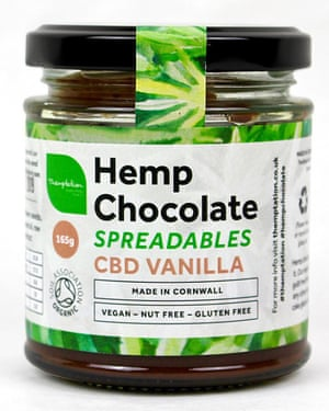 Themptation Hemp Chocolate Spreadables CBD vanilla spread