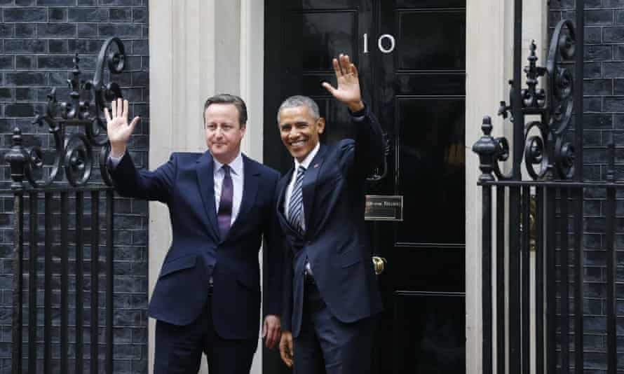 David Cameron and Barack Obama outside No 10 Downing Street