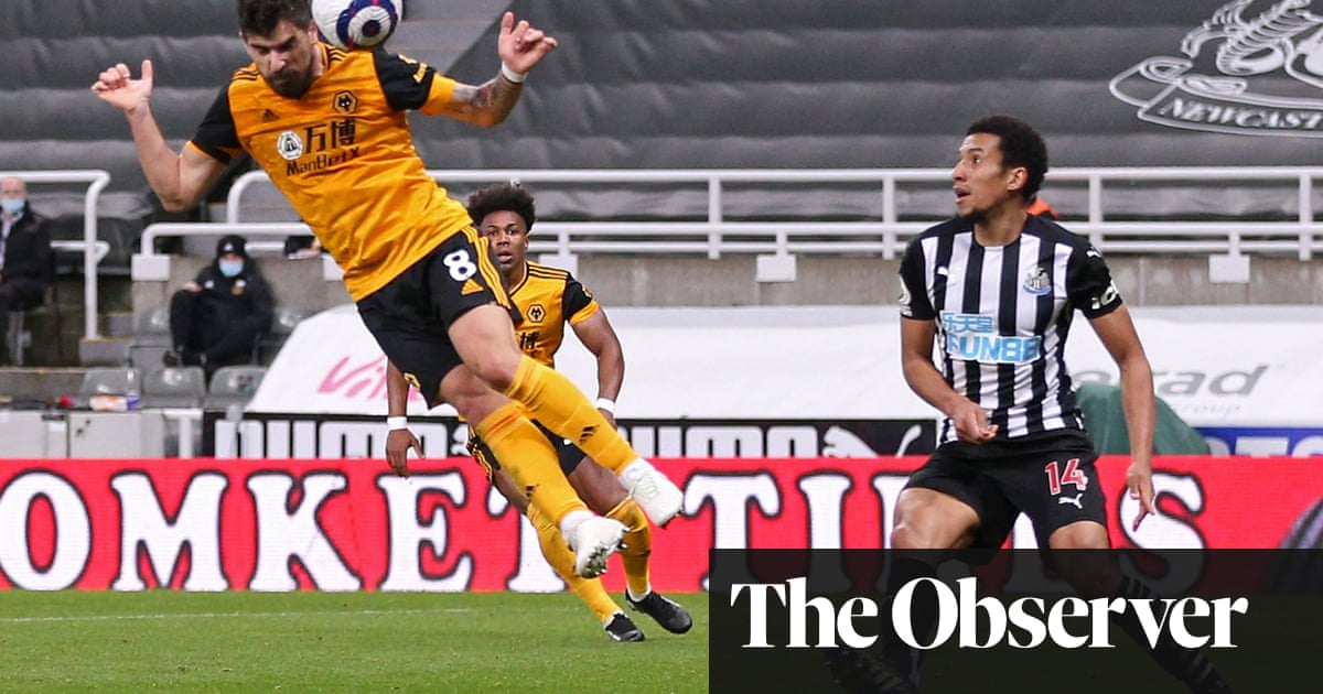 Rúben Neves earns Wolves draw and leaves Newcastle to rue costly errors - the guardian