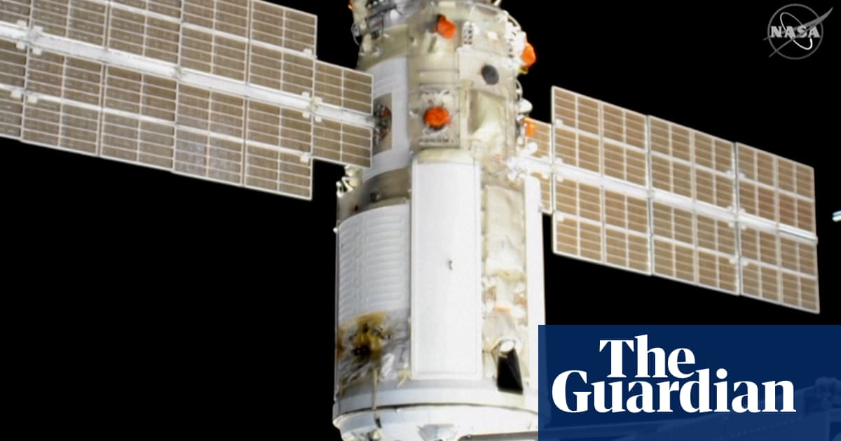 Russian space module mishap pushes ISS out of position – video