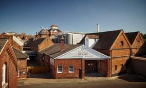 The Shepherd Neame brewery in Faversham, Kent.