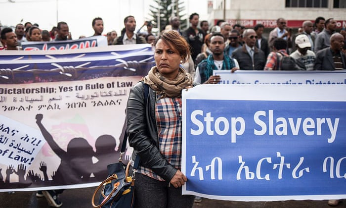 Image result for stop slavery in eritrea