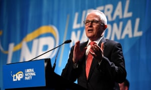 Turnbull speaks at 2017 LNP conference.