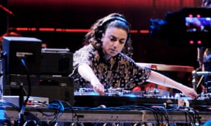 She's electric … Shiva Feshareki during the Pioneers of Sound late-night Prom at the Royal Albert Hall.