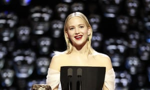 Jennifer Lawrence … bleached out.